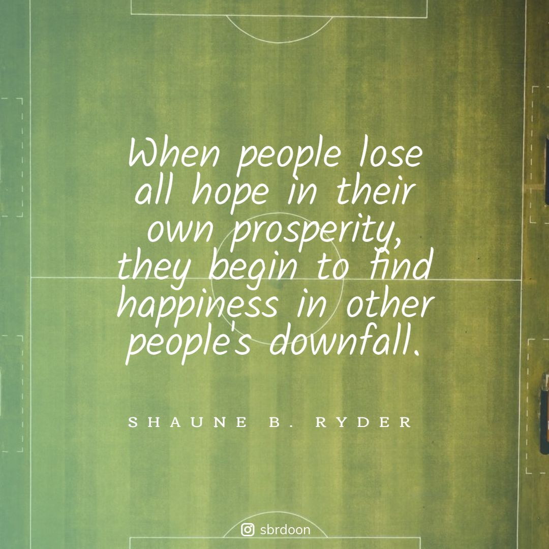 Sad but true. ⚠️  Quotes by SBR. Sharing permitted with due credit to the author.   (C) 2020 Shaune B. Ryder. All Rights Reserved.   #sbryder #mondayvibes #mondaymorning #quotes #quoteoftheday #dailyquote  #mondayThoughts #mondayfeeling #people #prosperity #downfall #Facts https://t.co/rgmgNiiKBz