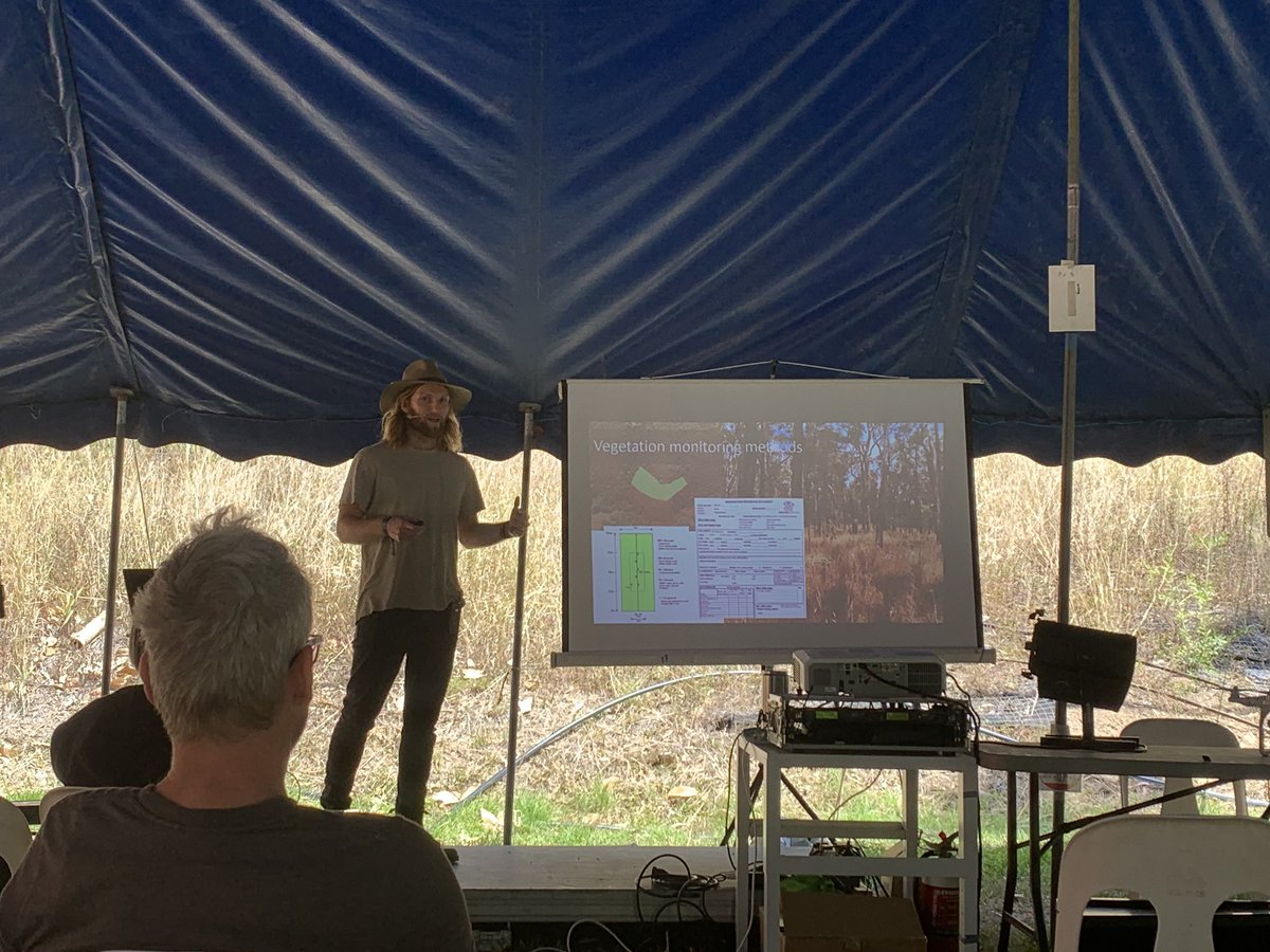 Had fun talking about how we can use #drones and other remote sensing platforms as tools for environmental conservation at @Woodfordia Bushtime festival over the weekend! https://t.co/WG6N8TzSpz