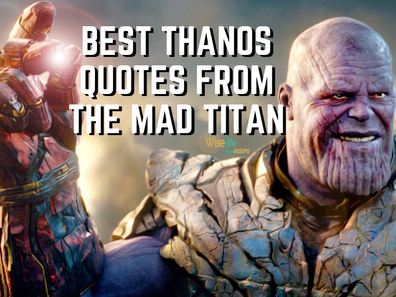The Best Thanos Quotes from the Mad Titan https://t.co/1Ngag9oESK  #quotes  #lifelessons https://t.co/IYSdRBZzX7