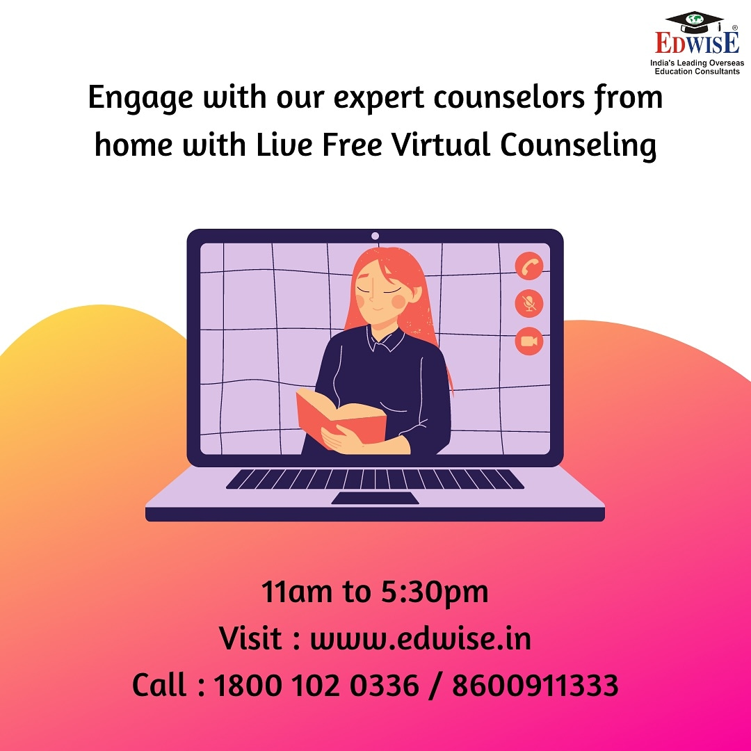https://t.co/lbajOmLpjo #virtualfair #onlinecounseling #admissions #admissionsday #series #educational #educationabroad #higherstudies #highereducation #event #consultants #counselor #countries #edwise #edwiseinternational #futurethroughedwise https://t.co/yLEauvo09E
