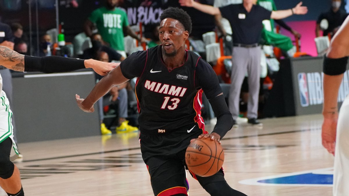 Bam Adebayo joins Shaquille O'Neal, LeBron James and Dwyane Wade as the only @MiamiHEAT players to record 30+ points, 10+ rebounds, 5+ assists in a postseason game. https://t.co/KGCClY7kL4