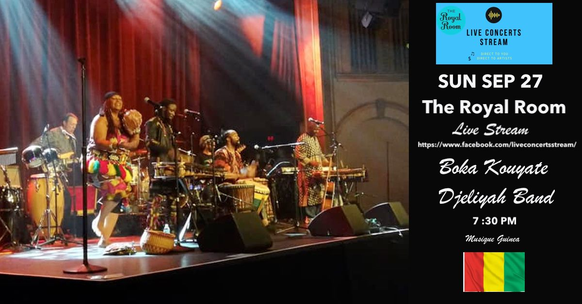 #livestream Watch NOW. Boka Kouyaté and The Djeliyah Band is a West African music and dance collective based in Seattle. https://t.co/5jDXCvDM9d  #Djeli #westafrica #Guinea # https://t.co/seEJXkFRbm