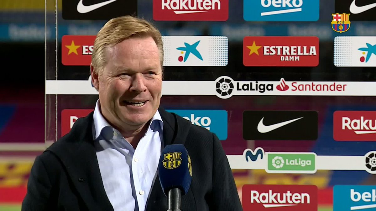 ❝We scored four times and that was very good.❞       — @RonaldKoeman https://t.co/BOJtmmzdRM