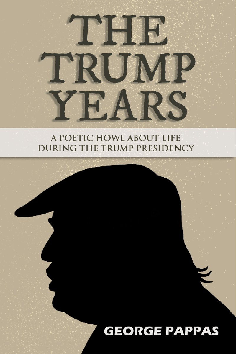I wanted to share a sneak peek at the cover of my next #book a #poetry collection about Trump titled, THE TRUMP YEARS. It is a #poetic howl about life during his horrible presidency... Can't wait to share later this week... #poet #TheTrumpYears #books #vote https://t.co/8pqobnR102
