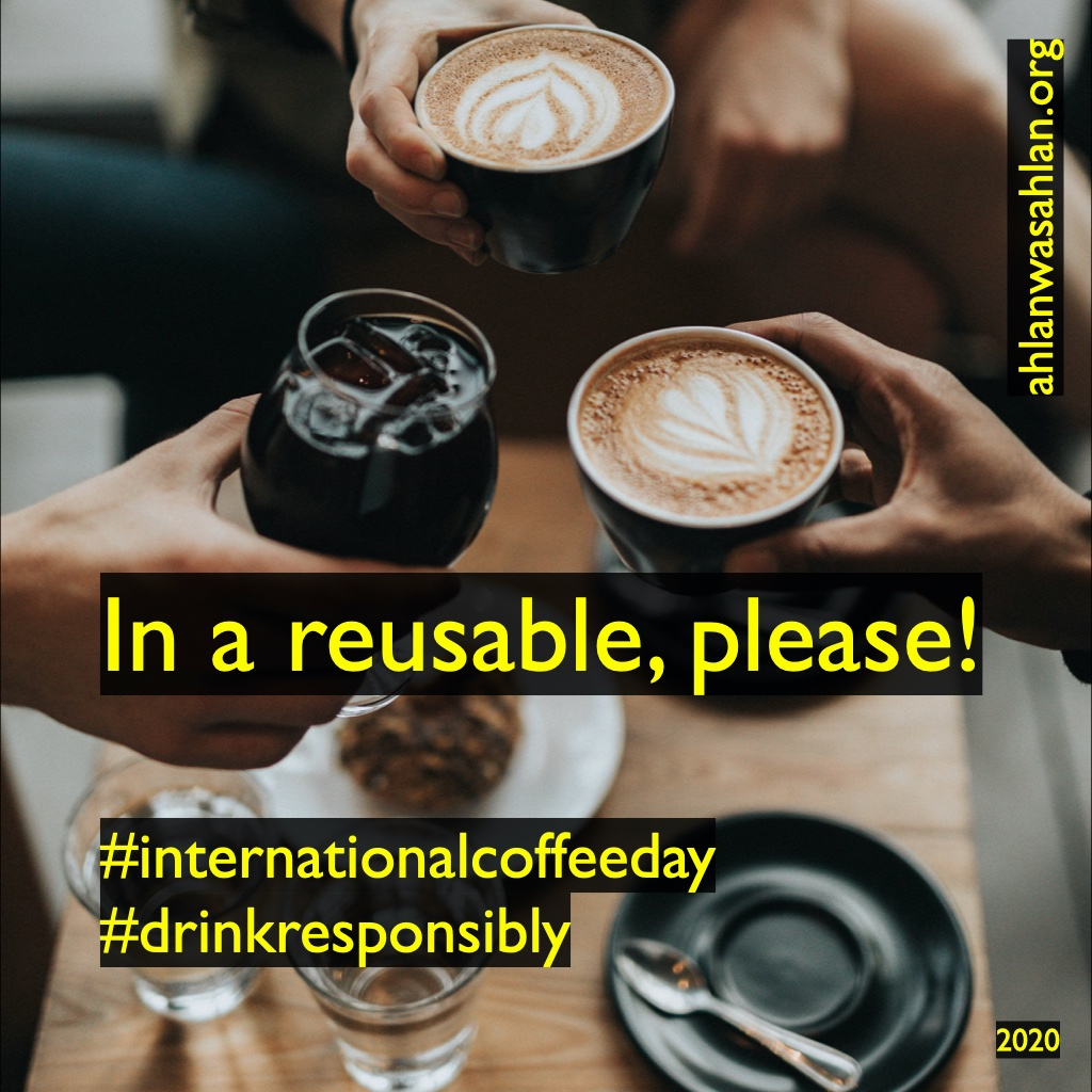 Your decision to opt for a #reusable cup means one less not readily recyclable / biodegradable cup ends up in our #environment but is it enough? We'll be posting more on coffee this week!  #internationalcoffeeday #drinkresponsibly #climateaction #youth4climate #sustainability https://t.co/szFwCbHjvi