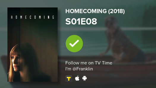Today's episode was S01E08 of Homecoming (2018)! #homecoming  #tvtime https://t.co/OjxMmOlwWS https://t.co/E3ubsWPdPX