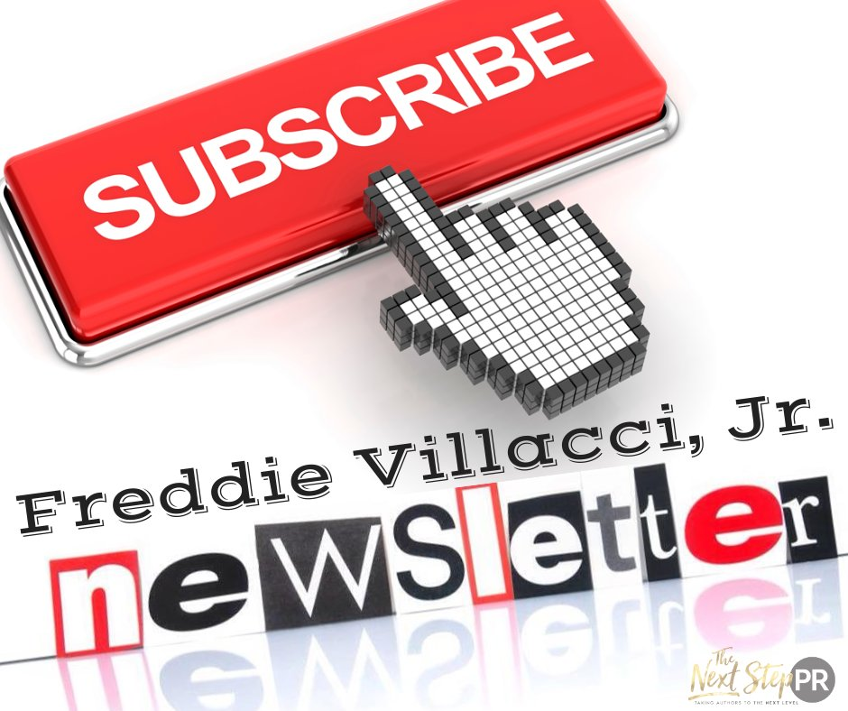 📫 Want some #Mail? 📪  Get a #Newsletter in your #InBox To @FreddieVillacci #Newsletter Stay up to date with this author and never miss sales, giveaways, new releases and exclusives for subscribers only Subscribe ➩ https://t.co/mrH1P1I44r https://t.co/OWpXxZx71D