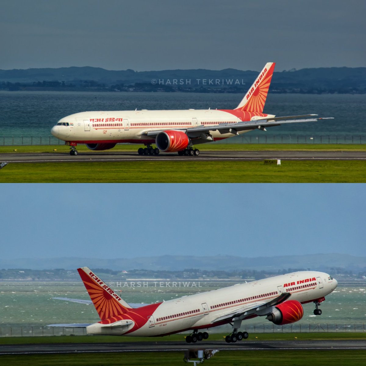 @airindiain arrived @AKL_Airport from @DelhiAirport on 26th September, and it departed from @AKL_Airport today for its 11th repatriation flight from NZ. 📸: #NikonD3500 @BoeingAirplanes @Boeing  #aviation #aviationphotography #aviationphotos #AirIndia #Auckland https://t.co/1zAfPz1Swz