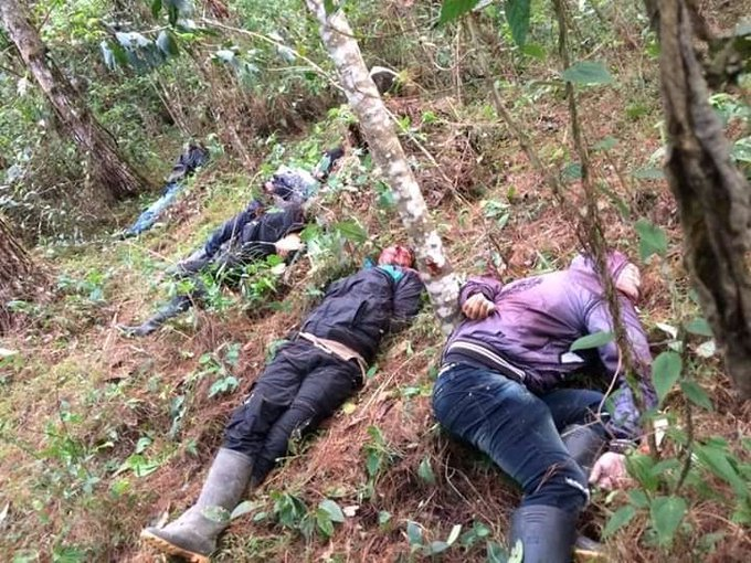 🗞🛑En #Colombia ALERTA💥🇨🇴   🔻Nueva masacre ASESINAN a 5 indígenas y SECUESTRAN a otros 40, en el resguardo indígena Inda Sabaleta de la comunidad Awá en el municipio de Tumaco.   https://t.co/TnbvH6G8tf