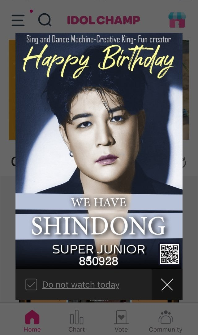 🥳HAPPY B-DAY #SHINDONG DENGDONG🎂  Today we celebrate to a talented, charismatic,unique being! A man that shows us each day that we can make a change.  Let's congratulate him on his SNS & subscribe to his channel https://t.co/52r3QTI6a8  Cr.@xsa_pao #HappySHINDONGday @SJofficial https://t.co/3RndNMWmYH