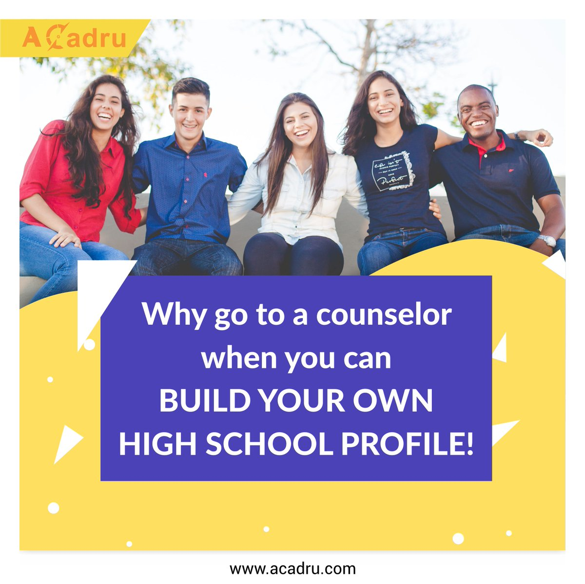 #aCadru is the most powerful resource for #students to build their profile as they start thinking of competitive #collegeadmissions, new jobs, acquire #21stcenturyskills or simply being ready for future.  #career #FutureReady #profilebuilding #careercounselor #StudentLivesMatter https://t.co/j6hUAq4myE
