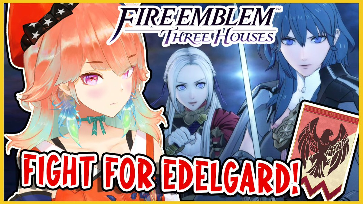 In 30 minutes I'll continue playing FIRE EMBLEM: THREE HOUSES !!! 🥳30分後にファイアーエムブレム 風花雪月続けるよー!#KFP #キアライブ