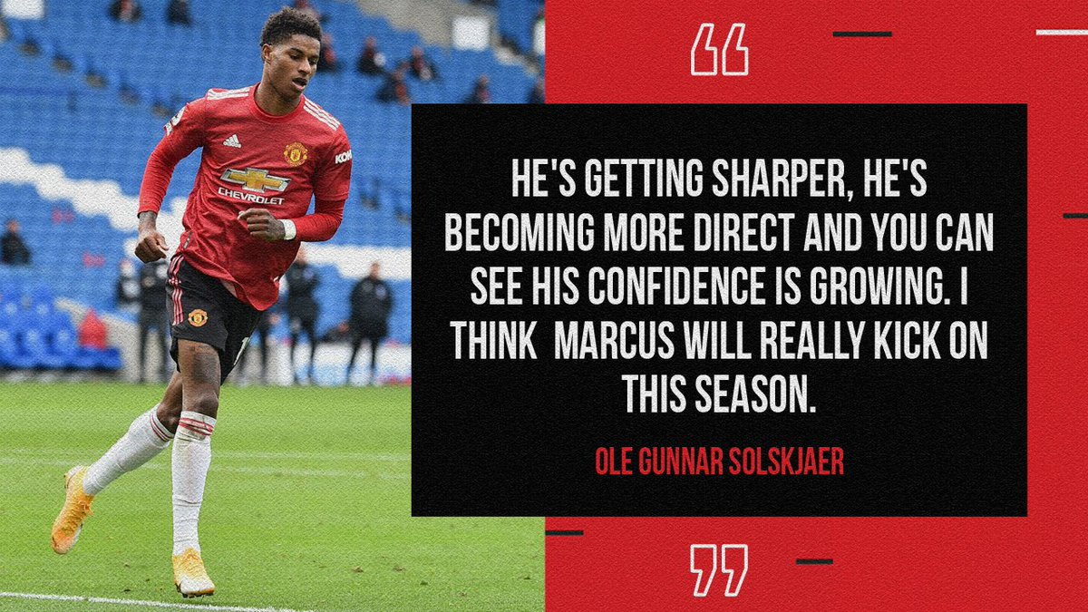 📈 There's more to come from @MarcusRashford, says the boss 🌟  #MUFC #MondayMotivation https://t.co/TJ1hBeeDrv