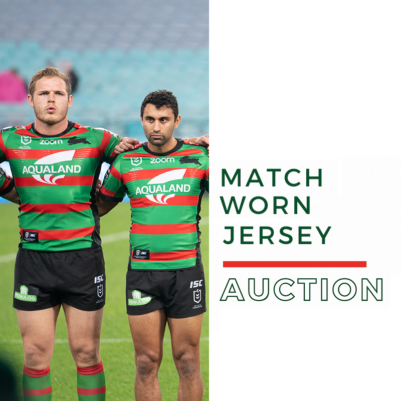 South Sydney Rabbitohs On Twitter Get Your Hands On A Match Worn Home Jersey At Our Official 2020 Auction Make Sure You Go Home With Your Favourite Player S Kit Shop