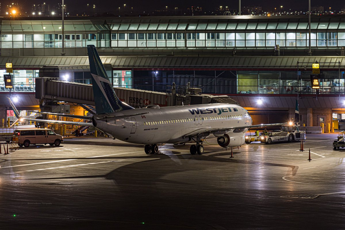 @WestJet @BoeingAirplanes 737-800 resting at gate C39A after arriving from @yvrairport   #AvGeek #westjet #b737 #planes #planespotting #yyz #toronto #vancouver #yvr #airlines #airliners #aviation #aviationdaily #aviationphotography https://t.co/8RdCC2BGmM