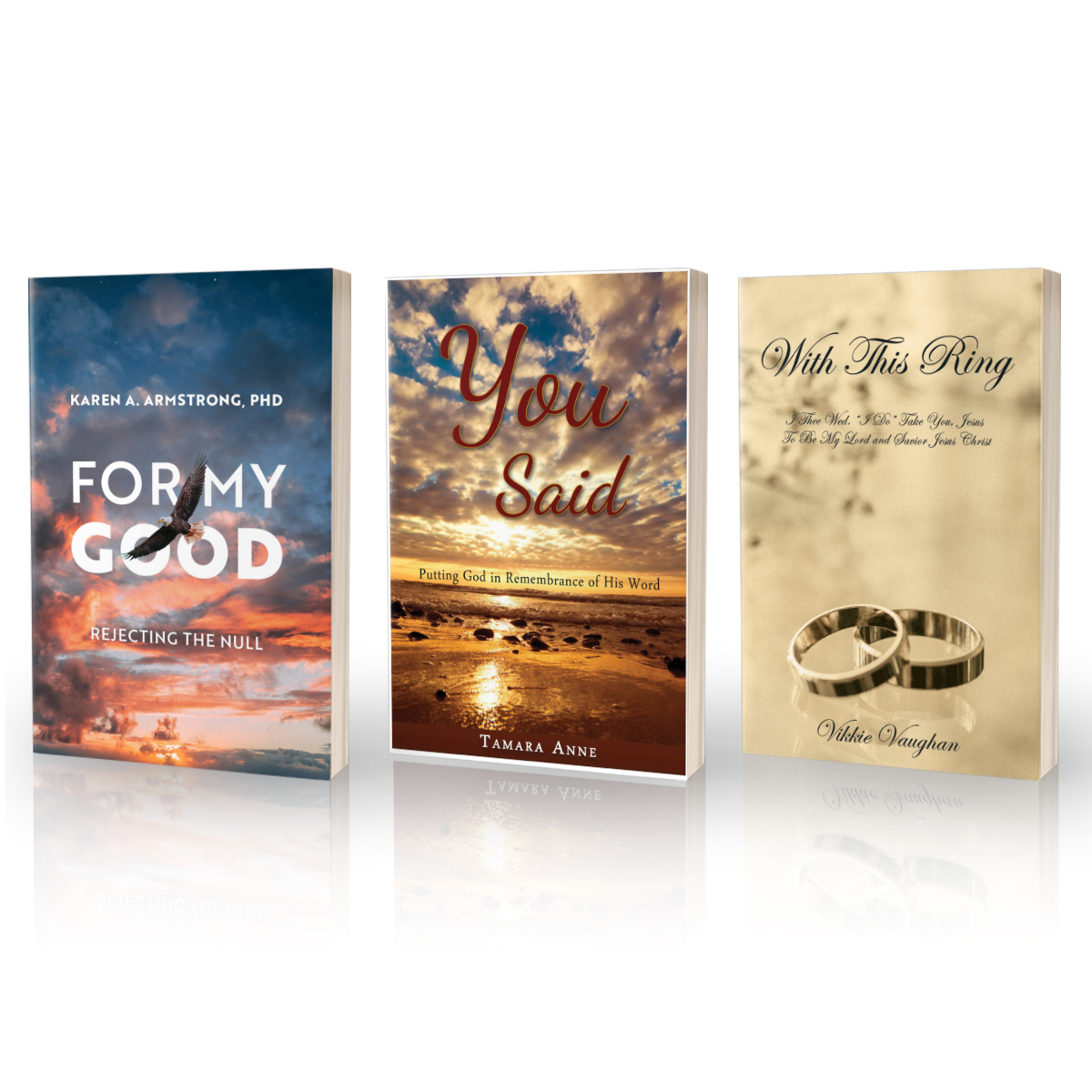 NEW BOOKS THIS WEEK!!  Karen A. Armstrong: https://t.co/mbj5Y2Z4nY   Vikkie Vaughn: https://t.co/HQhy9qBLKA   Tamara Goines: https://t.co/GtzrF3wXGc  ---Have you ever dreamed of being an author? @TBN & @trilogybooks want to help! Follow us and go to https://t.co/pEITdM14ji now https://t.co/LRIJMNoUQu