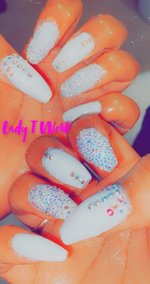 Lady T Nails #Norfolk #Hampton #HamptonU #NSU #chesapeakebay #Spartans #hamptonuniversity #BlackLivesMatter #Chesapeake #coffinnails #nails #Rhinestone #rhinestonenails #vote2020 # https://t.co/CdkMCiR2Oj