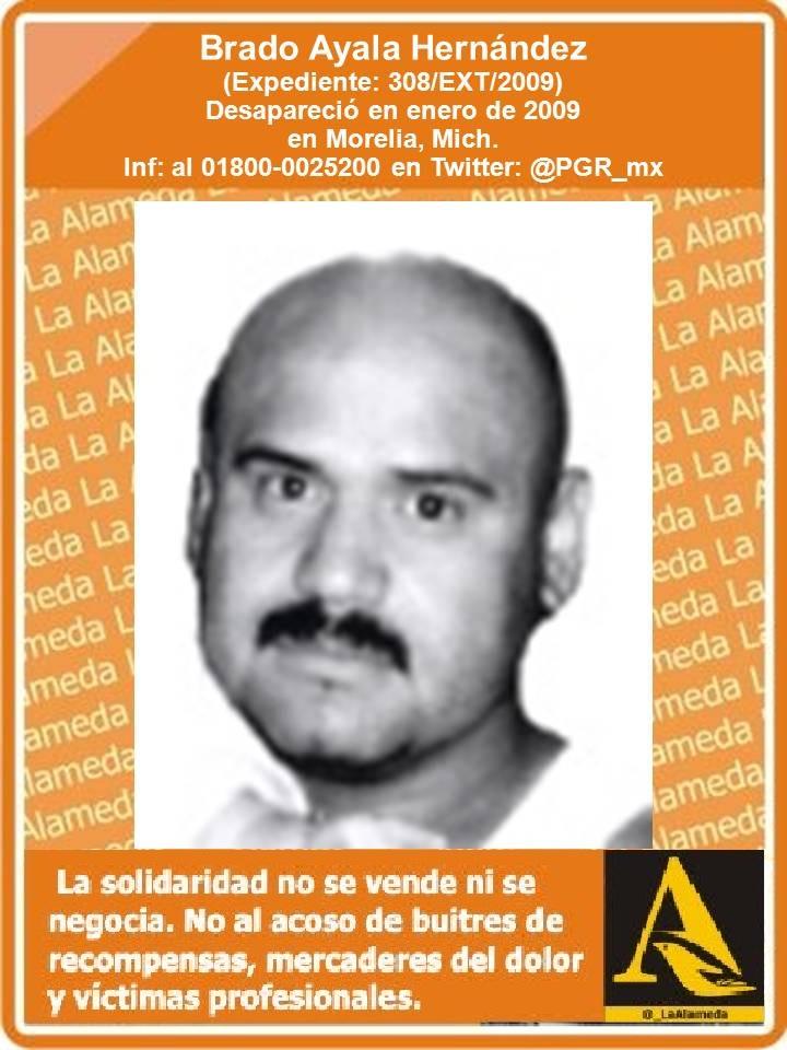 #TeBuscamos Brado Ayala Hernández, #Morelia #Michoacán enero 2009 #911 https://t.co/0DTcicHHRE