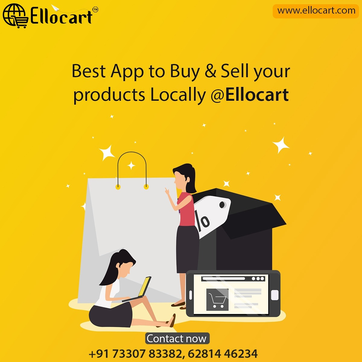 Best App to Buy & Sell your products locally @Ellocart  https://t.co/VODjDsjZa8 Contact Now: 73307 83382, 6281446234 #shopping #localbusiness #localshops #ellocart #neareststores #localstores #supportlocalbusiness #business #LocalProducts #orderonline #easyshopping #takeaway https://t.co/ajzmQ6yuni