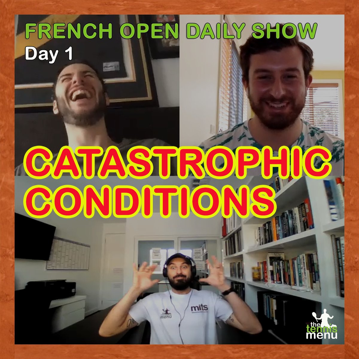 🎥 WATCH | Day one show with @BreakPointPod has arrived! We review all the action and assess the fallout of the new balls.   YouTube 👉 https://t.co/orYtqysBAS Spotify 👉 https://t.co/BKbEt1qPis Search 'The Tennis Menu' on Facebook   #RolandGarros https://t.co/FIEZH56qeV