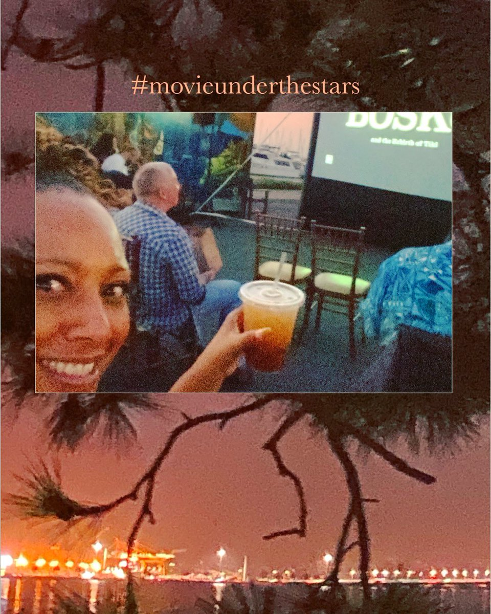 #tonight ...you had me at movieunderthestars and 🍹❤️💋 . P.S. BONUS: I learned all about tiki bars and love them even more now❗️ #cheers  #findyourjoy #fun #gratitude  #enjoythelittlethings #bestmaitaisever 🍹 #madenewfriends ✅ #supportsmallbusiness ✅ #anothersunset ✅ https://t.co/sicsB65Jpa