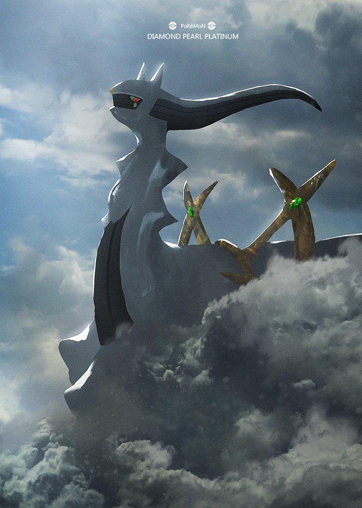 ポケットモンスター ダイヤモンド・パール・プラチナアルセウス/Arceusギラティナ/Giratinaダイパ14周年✨🌈☺️🌈✨#ポケモン #Pokemon