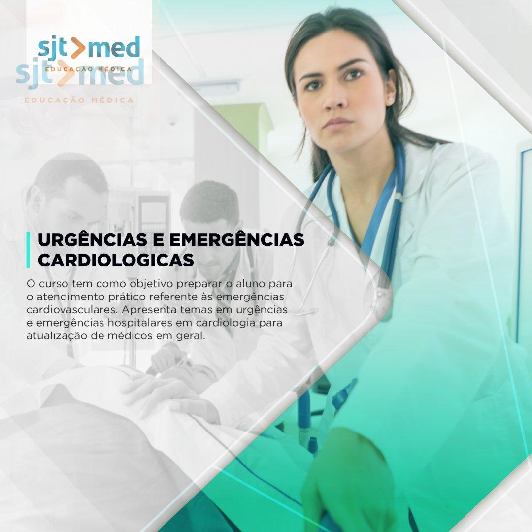 Curso de Educação Médica Continuada: URGÊNCIAS E EMERGÊNCIAS CARDIOLÓGICAS.  5 aulas abordam situações em que a intervenção ou tratamento cardíaco são necessários.  Informações: (18) 99141-8872 #Damásio #Araçatuba #Birigui #SJT #Medicina #EMC #Urgencias #Emergencias #Cardiologia https://t.co/6djvyLR05N