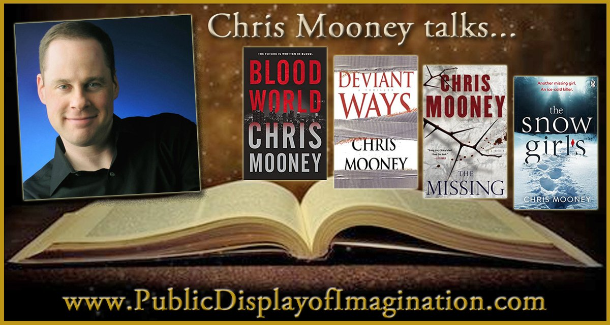 """When does good storytelling becomes great storytelling? We'll """"start over from page 1"""" as we explore that question and so much more on this #PDI #Podcast Adventure with @cmooneybooks Here's your Listen Link>> https://t.co/YitFiJ3uMZ  #AmReading #WritersLIfe #AmWriting #Thrillers https://t.co/joNbulfAfn"""