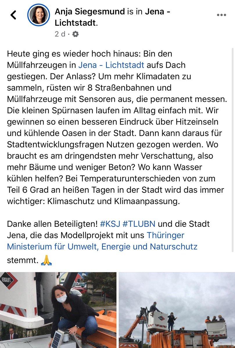 Das hatten wir von @TTN_Freiburg zusammen mit @envmet auch der #ASF vorgeschlagen. Aber sowohl Mappen um die #TTN Abdeckung festzustellen als auch um #Klimadaten zu sammeln ist der #Freiburg'er #müllabfuhr zu problematisch (was da raus kommen könnte? #datenschutz?? Aufwand???) https://t.co/myePgfuWiW
