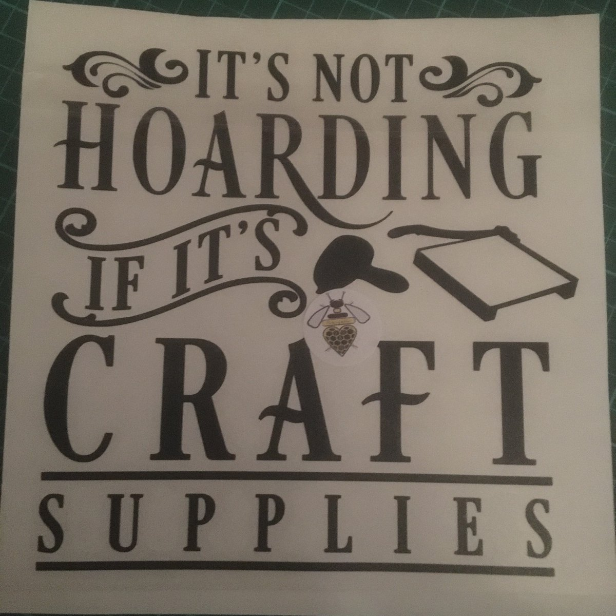 #newlisting  Suitable for all #crafts. Available to fit all box frame sizes. #availablenow  #crafts #humor #framework #homedecor #vinyldecal #order #qoutes #FYP #giftideas #forhim #forher #craft #materials #shoppingonline  https://t.co/vYec75eLeo https://t.co/FpDWnti9nK