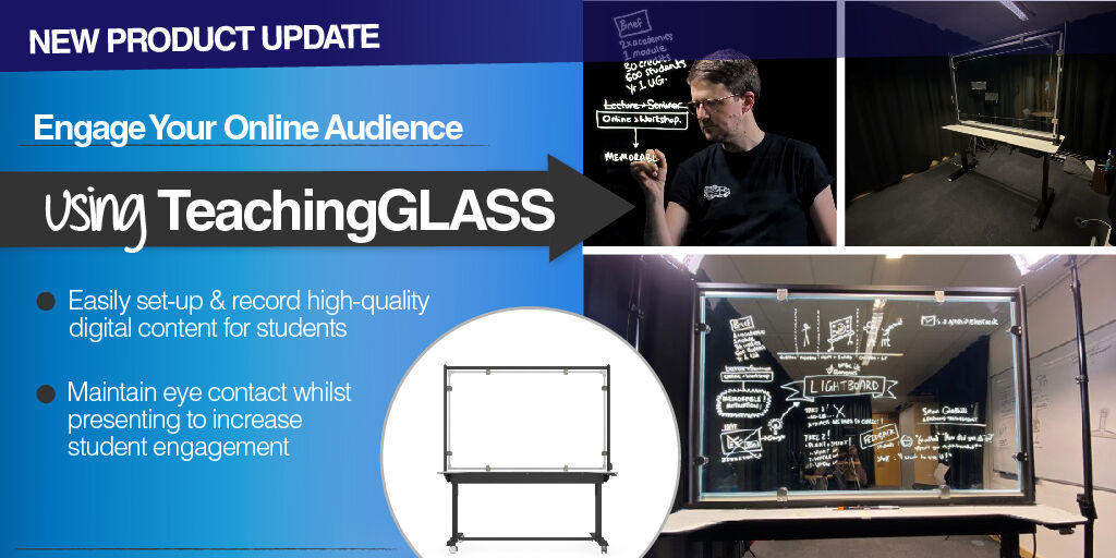 Introducing TeachingGLASS, an essential solution for a successful pivot to #OnlineLearning!  Easily present, engaging & informative online #lectures that keep your audience coming back for more.  See #TeachingGLASS in action... https://t.co/Z4bWDdxHKp #EduEst20 #UCEXPO #elearning https://t.co/bQ9K3WdMOK