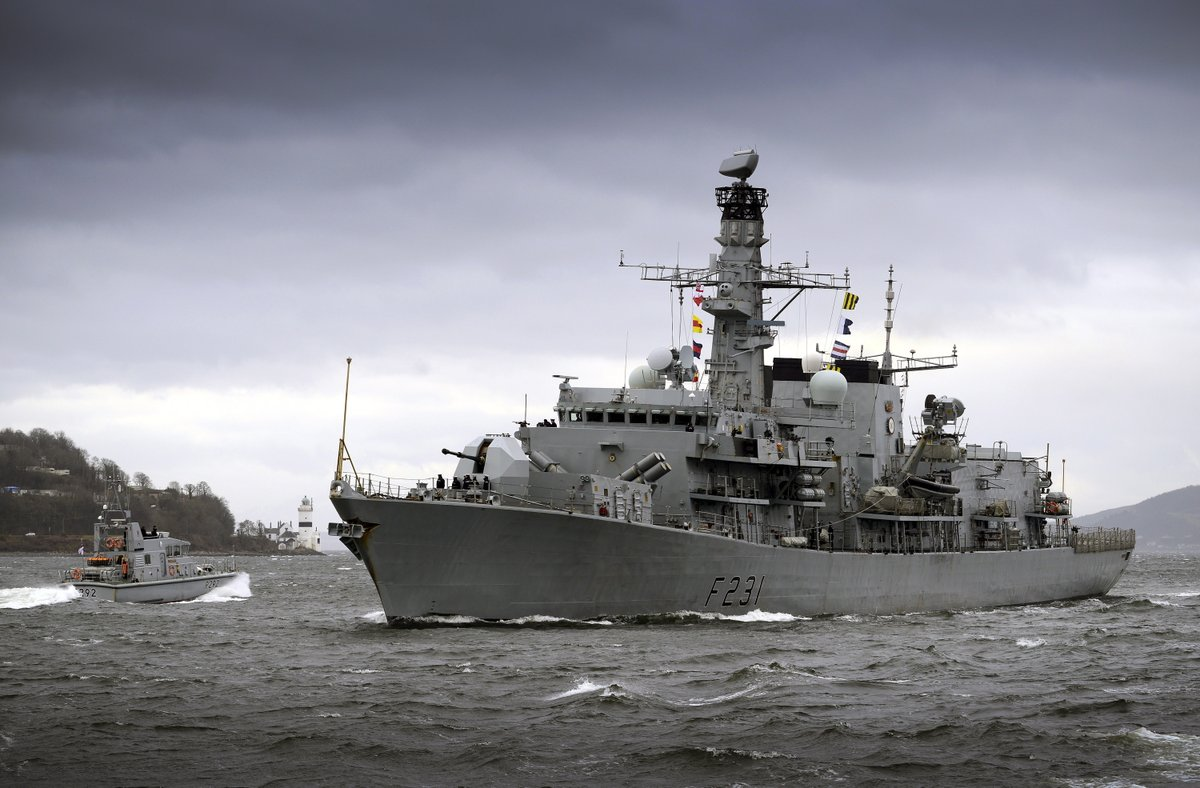 Faslane is set to host visiting NATO warships in the coming days ahead of the latest Joint Warrior training exercise. More here: helensburghadvertiser.co.uk/news/18748423.…
