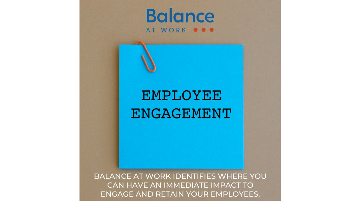 We help you stay on track with your own people management database and coaching. Balance at Work also identifies where you can have an immediate impact to engage and retain your employees.  https://t.co/oNkIwZdWrA   #executivecoaching #leadership https://t.co/7ziGUEUMgk