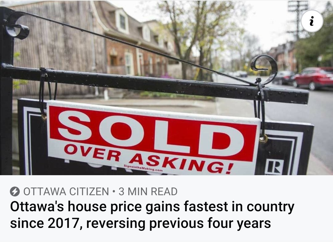 🏡🏘The housing market here is moderately overheated, the federal agency concluded this week, and prices are accelerating too quickly. https://t.co/zvc1PbWj9l  ☎️613.262.0508  #EXP #Ottawa #barrhaven #RiversideSouth #Kanata #home #newhome #buyer #canada #realtor #houseforsale https://t.co/Wr8ndBcREW
