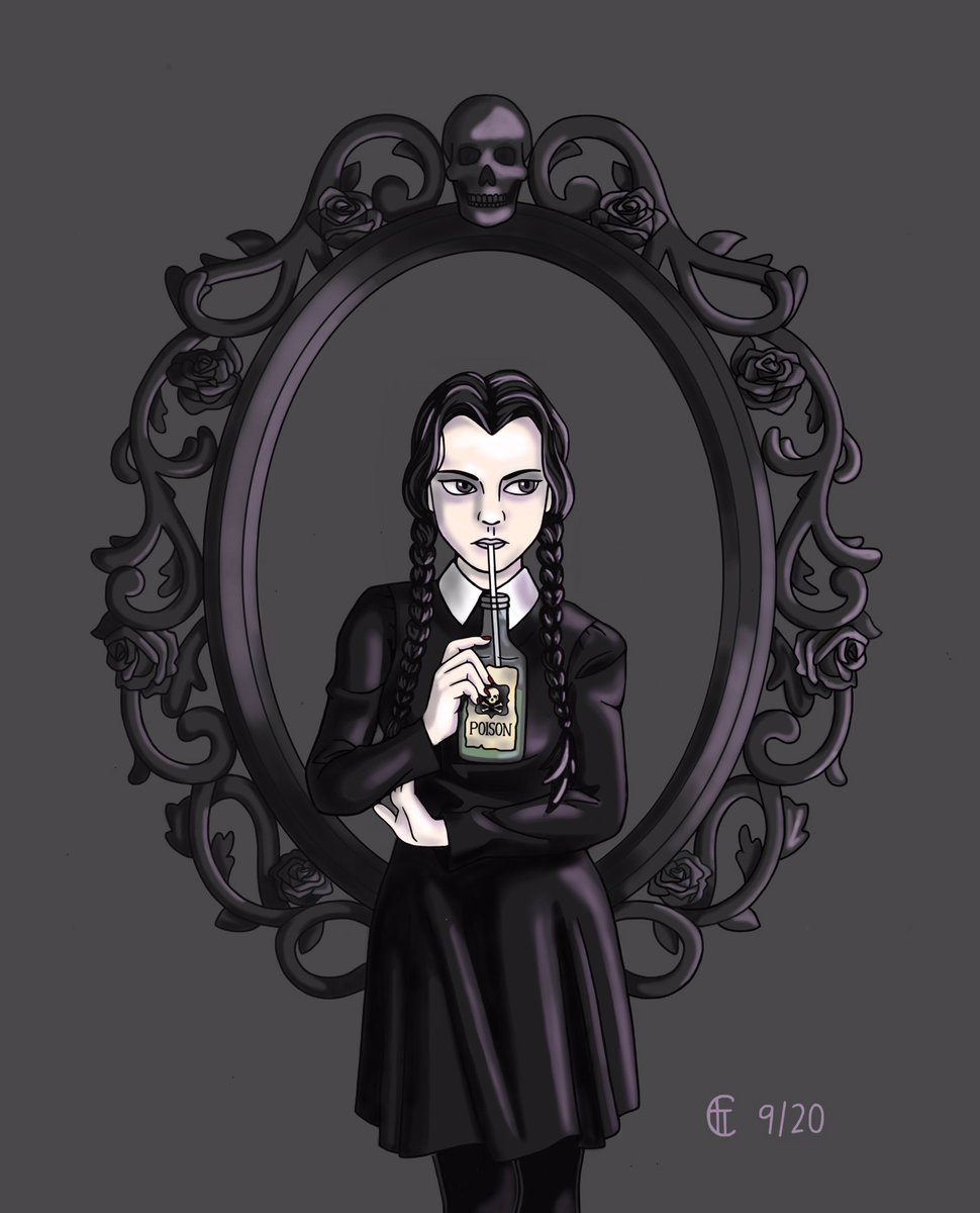 For the amazing @snakebby666! Wishing you a happy birthday! #addamsfamily https://t.co/JmXQ7Lzk8N
