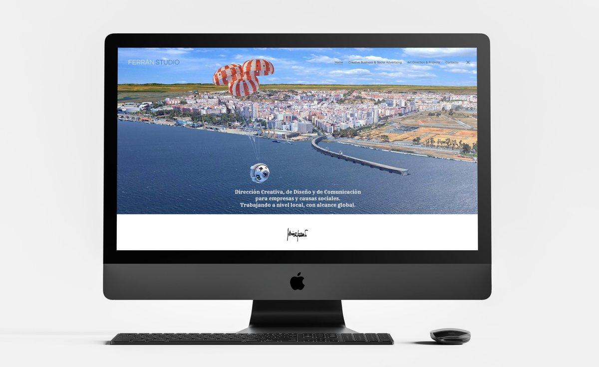 #Huelva #MuelledelTinto #Web #WordPress #DireccióndeArte #DiseñoGráfico #Comunicación #MockUp #iMac #SpaceX https://t.co/yfqGVHTPRP https://t.co/nerqYX3vwI