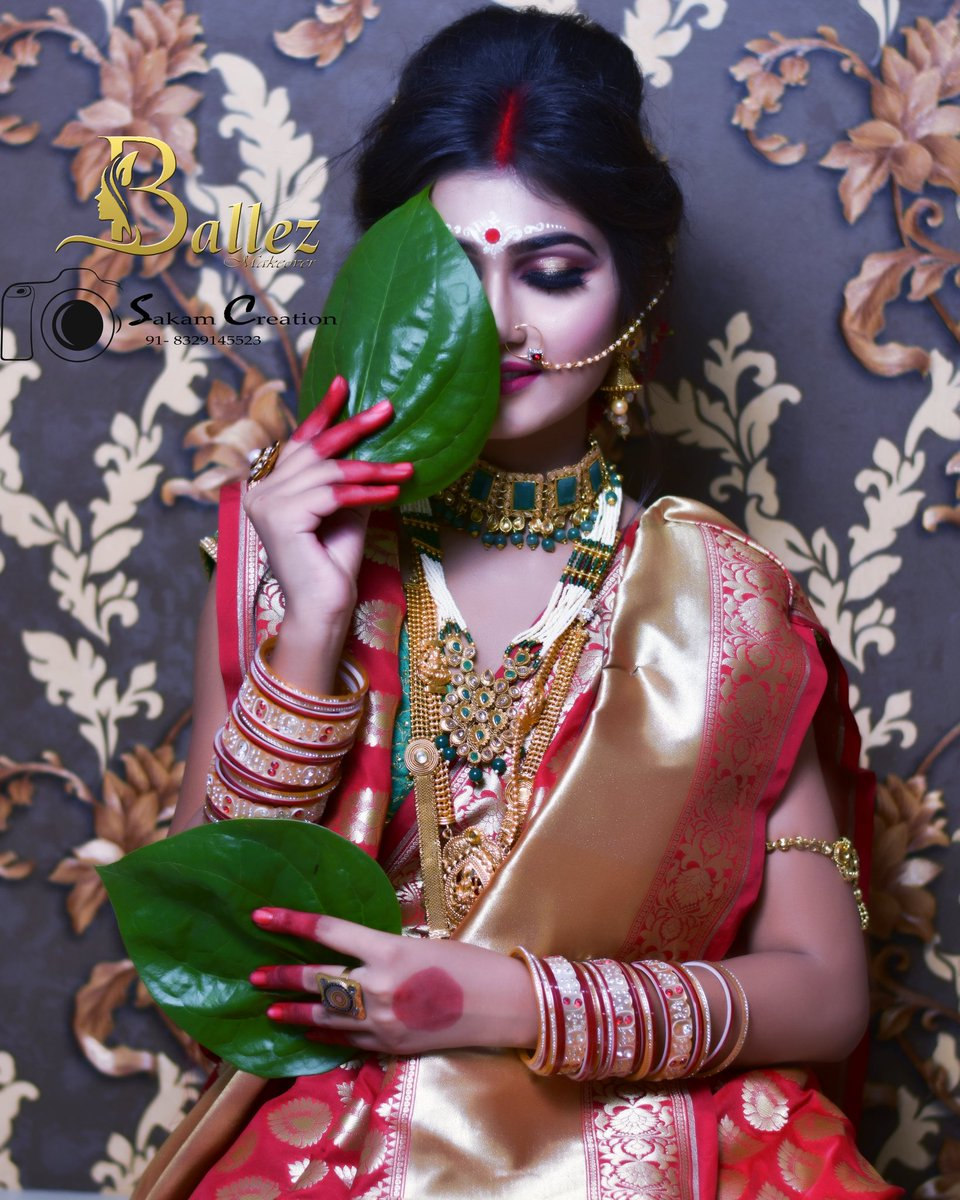 Content @sakam_creation Click.  @sourabh_sahare  #sarri #bangaligirl #bangalibride #bagalicewedding #photooftheday #bangalibride #makeupideas #makeuplook #makeupoftheday #makeuppotrait #portraitphotography #photography #nagpur_boys_nd_girls_shoutout #nagpuritadka #sakam_creation https://t.co/AYOs3YIu89