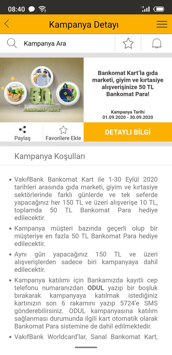 @VakifBank Bankomat kart kampanyasına katılmak için kısa mesaj(SMS) yollamak zorunlu tutuluyor. kısa mesaj için operatöre para ödeniyor. Neden kampanyaya katılmak için ücret ödemeye mahkum tutuyorsunuz?