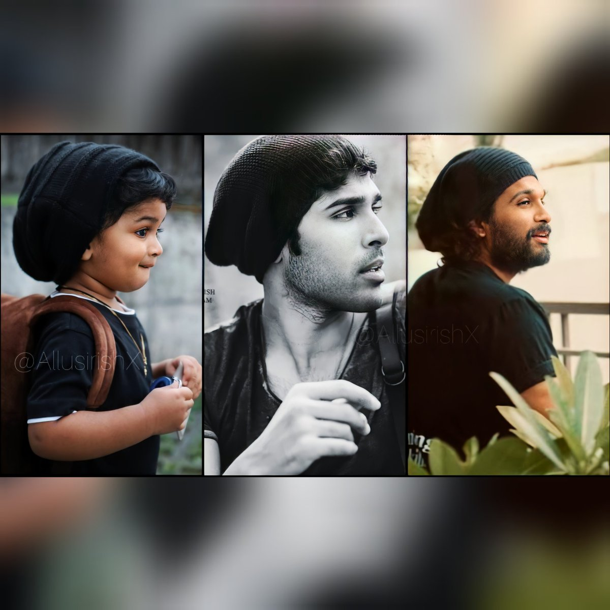 Thank you so much for the collage @Anuritha3 😊😊😊 @tejkrovi @AlluSirish @alluarjun   #AlluArjun #AlluSirish #TejKrovi #IndianStyleIconAlluArjun #college #Trending #Recreation #cosplay https://t.co/Sc3UY8Qemx