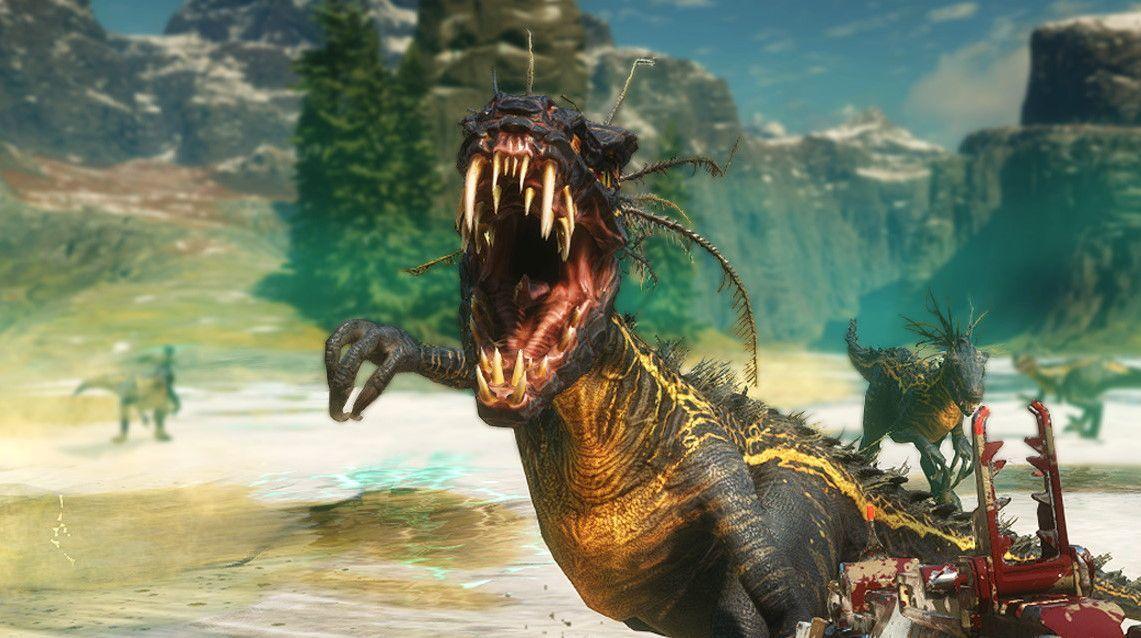 Enjoy 15 minutes of guns vs dinosaurs in this new Second Extinction gameplay trailer https://t.co/a2l8TqwAwU https://t.co/d31QOPLsQq