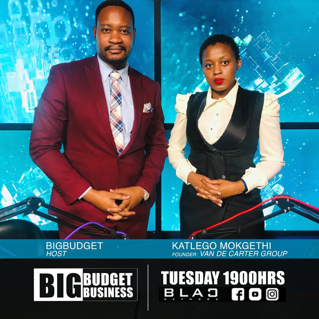 Catch Founder and CEO of #VanDeCarterGroup Ms Katlego Mokgethi discussing the real estate market and entrepreneurial development in Botswana on #BigBudgetBusiness. The show premieres on Tuesday at 7pm on https://t.co/jtSnxeRSET  #MarketPlayers  #Impact  #21kmfor21reasons https://t.co/LSrswWxeuo