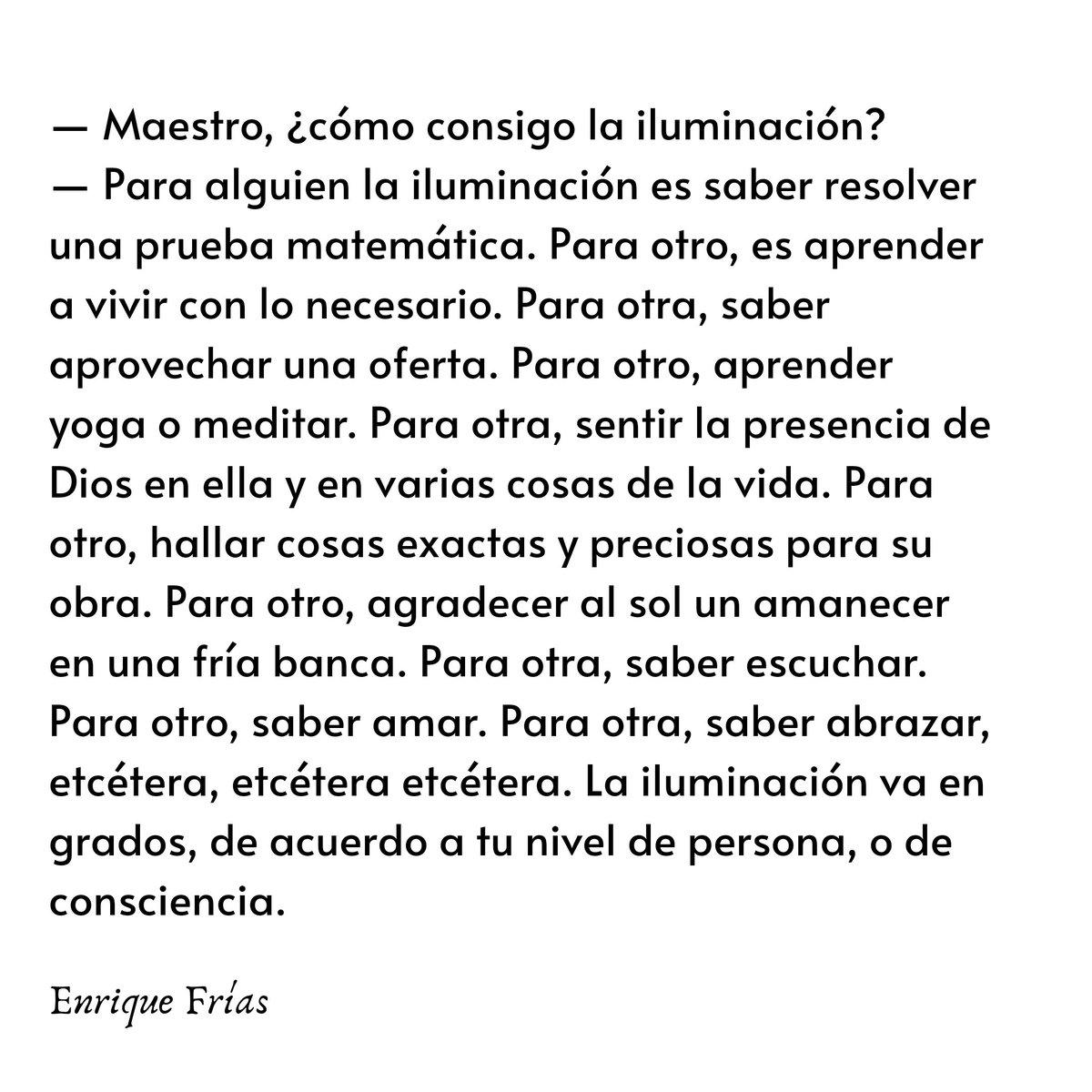 Maestro, ¿cómo consigo la iluminación? https://t.co/LR2J2vQT3p https://t.co/62noCNWyS0