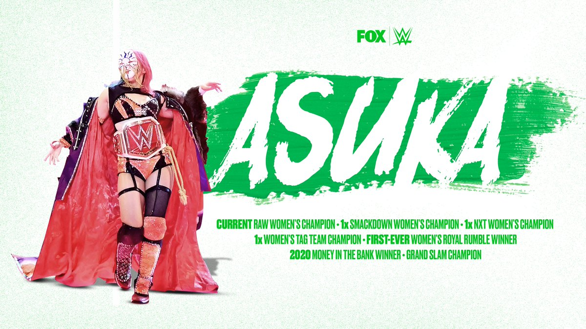 RT @WWEonFOX: Happy Birthday to the woman who has done it all in WWE, @WWEAsuka! https://t.co/NJ9It16dyG