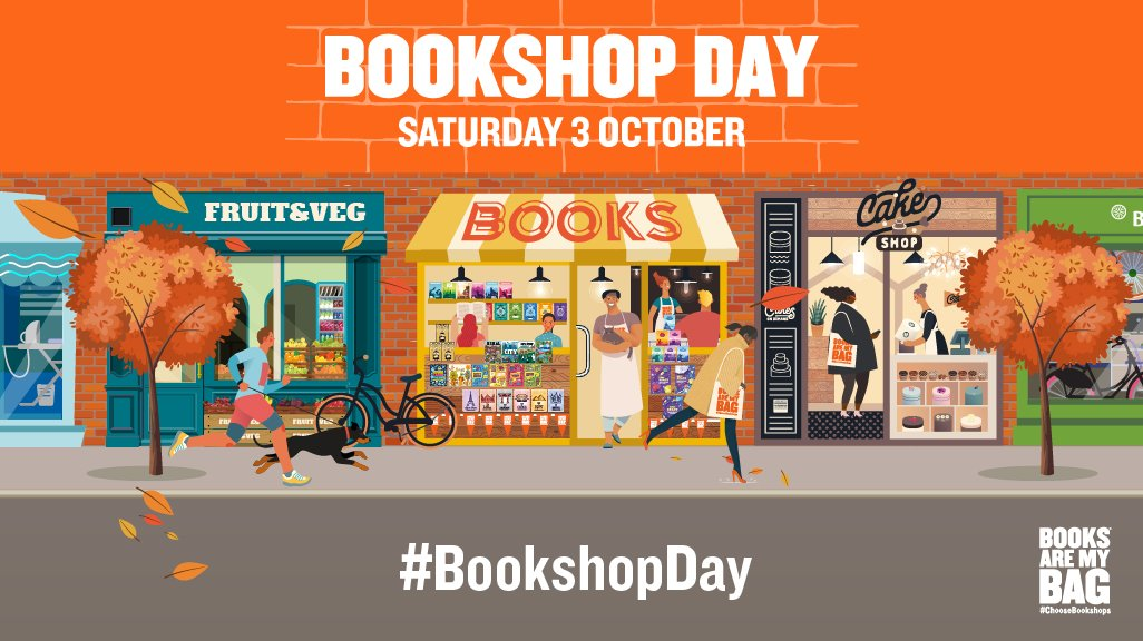 Only one week to go. Take time today to check out your local Indie Bookshop to see what is happening there next week. #BookshopDay #NationalPoetryDay #BlackHistoryMonth #BannedBooksWeek https://t.co/iurVwHxB1d