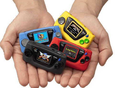 Wow they are releasing micro Game Gear next month. 😳株式会社セガの携帯専用ゲーム機「ゲームギア」の発売30周年記念新商品「ゲームギアミクロ」の限定セット商品等を予約販売開始!