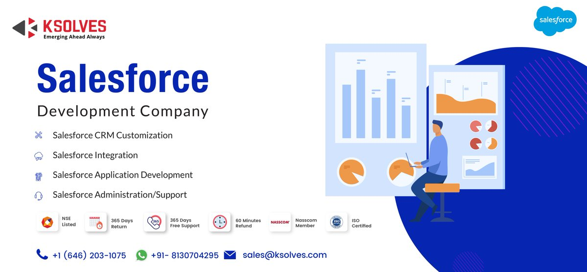 Usher Your Business To The New Era Of Interconnectivity & Powerful Data Analytics With Salesforce Contact Us - https://t.co/bcJSKkf6gM  #salesforce #salesforcedevelopment #ksolves #ksolvesindia https://t.co/XqEMRf7Ty4