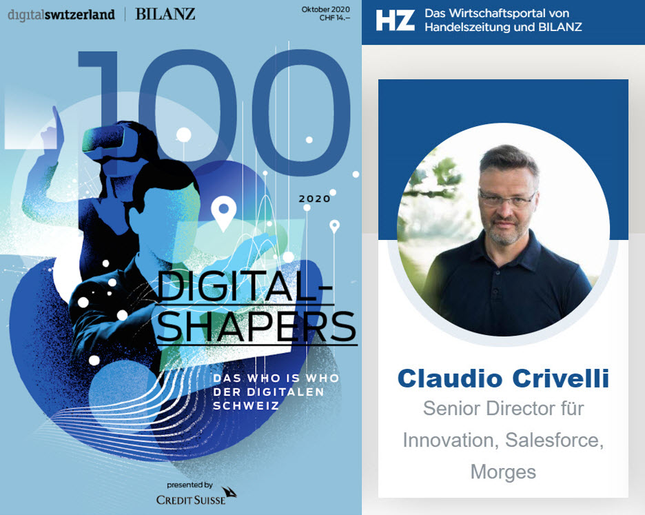 Dear friends, colleagues, trailblazer-clients, and connections, I would like to THANK all people that named me for this 2020 Digital Shapers recognition. Honored to be recognized among a great list of 2020 thought leaders. https://t.co/4SLlIPAKqZ #salesforce #wef #ohana https://t.co/VEPjqN0P13