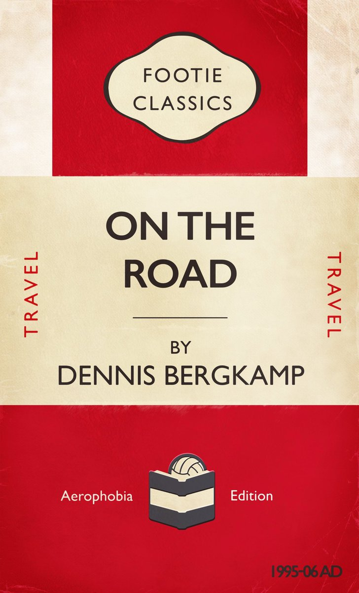 ON THE ROAD - A footie classic about how #Bergkamp took to the road for big european matches due to his fear of flying. #ArsenalFC #Gooner #COYG #AFC https://t.co/0xaA6RQIVm