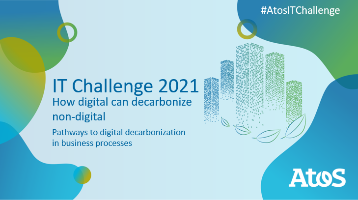 Dear #UniversityStudents #StudentEntrepreneurs #Studentpreneurs The #AtosITChallenge 2021 is now open! An international #studentcompetition dedicated to #techinnovation  Theme: How digital can decarbonize non-digital #decarbonization #openinnovation  ▶ https://t.co/NFAD9yVkp3 https://t.co/K1y5MKHAoI