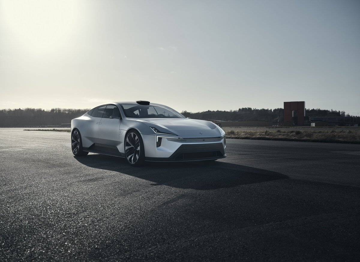 The Polestar Precept, an electric sedan powered by Android, is going into production
